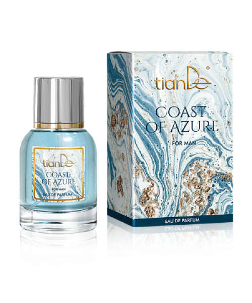 """Kvepalai vyrams tianDe  """"Coast of Azure"""" parfumuoti  50 ml"""