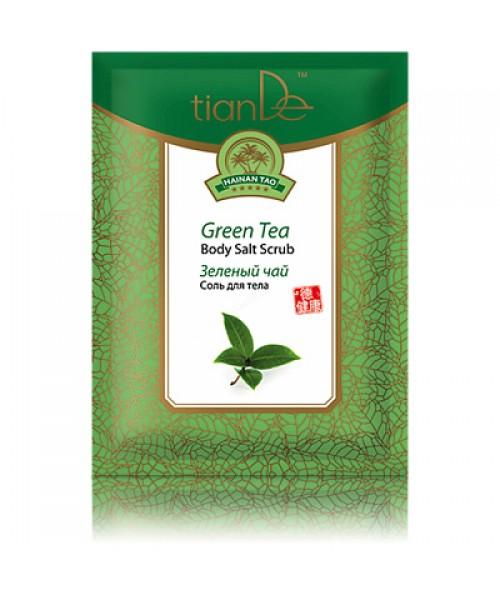 "TianDe  Kūno druska ""Žalioji arbata""  60 g"