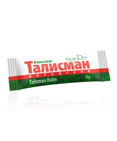 """TianDe  Balzamas """"Talismanas"""" ramina sudirgintą odą. Daugiau nei 97% natūralių komponentų 8 g"""