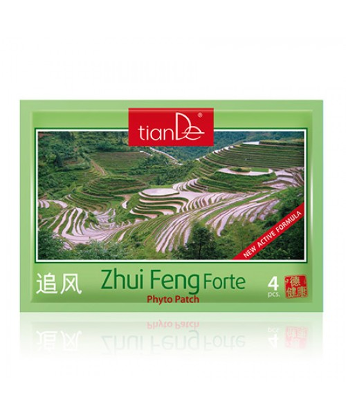 "TianDe fitopleistras  kūnui ""Zhui Feng Forte""  kūno raumenų problemoms lengvinti 4 vnt."