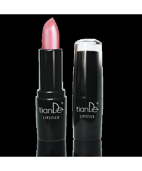 """TianDe Lūpų dažai drėgmė+sodri ilgai išliekanti spalva """" Lip Stick"""" 22 /mikroblizgučiai  3.8 g"""