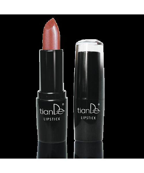 """TianDe Lūpų dažai drėgmė+sodri ilgai išliekanti spalva """" Lip Stick"""" 37 /mikroblizgučiai  3.8 g"""