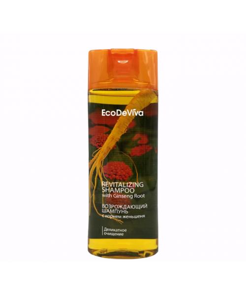 Atgaivinantis plaukus TianDe  šampūnas su natūralia Ženšenio šaknimi 200 ml