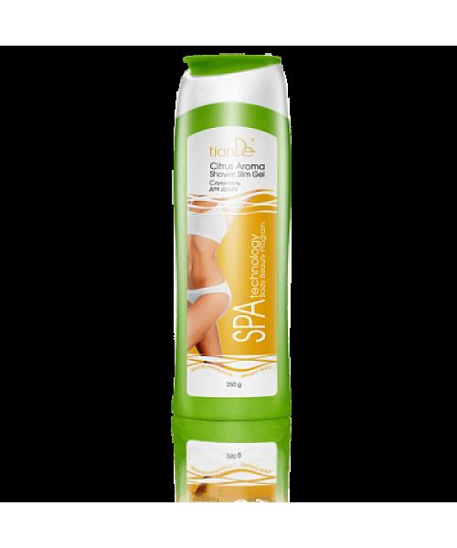 TianDe  Liekninantis dušo gelis Slim Citrus Aroma, daugiau nei 94% natūralių komponentų  250 g
