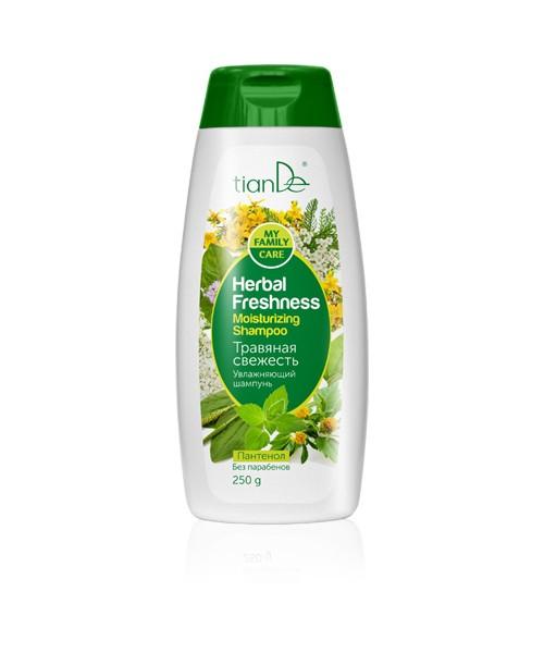 """TianDe Drėkinamasis šampūnas """" Žolės gaiva"""" 250 g"""
